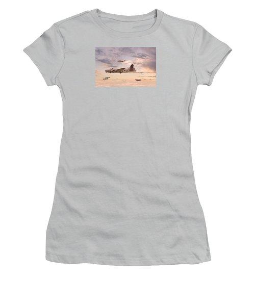 Escort Service Women's T-Shirt (Junior Cut) by Pat Speirs