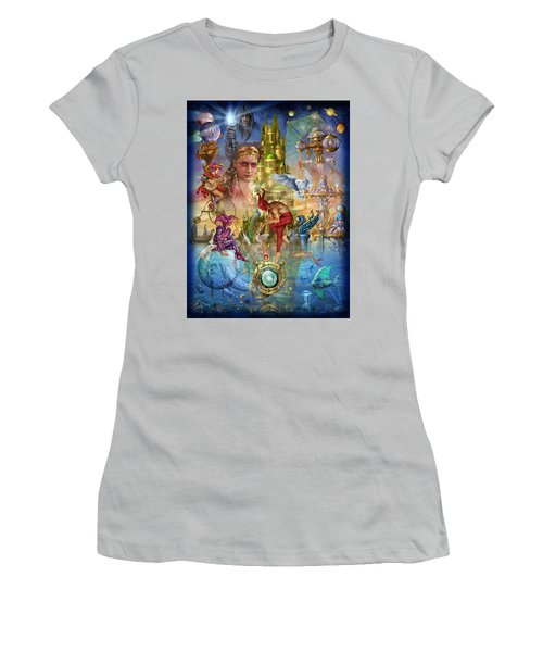 Fantasy Island Women's T-Shirt (Athletic Fit)