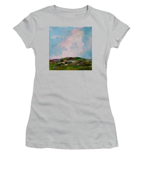 Farmland Iv Women's T-Shirt (Junior Cut) by Judith Rhue