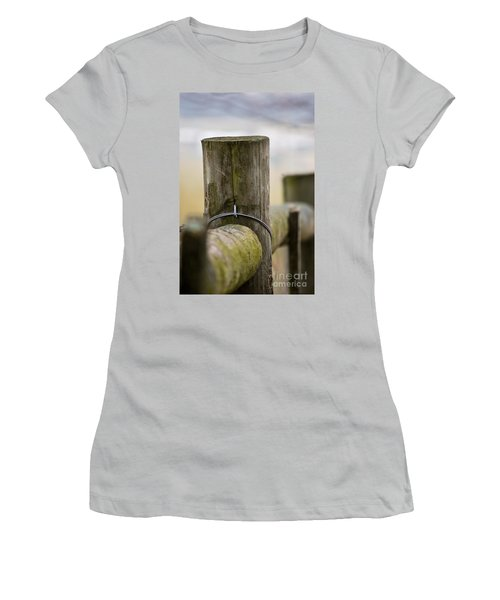 Fence Post Women's T-Shirt (Athletic Fit)