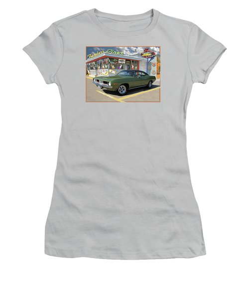 Fenders Diner Women's T-Shirt (Athletic Fit)