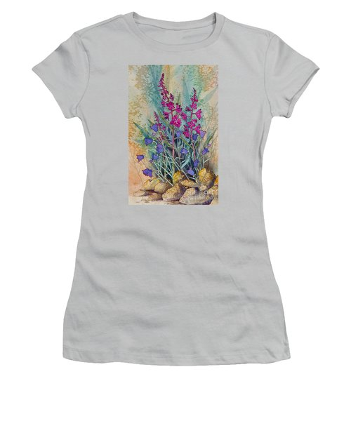 Fireweed And Bluebells Women's T-Shirt (Athletic Fit)