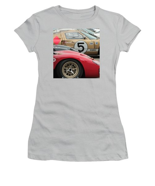 Ford Gt 40's Women's T-Shirt (Athletic Fit)