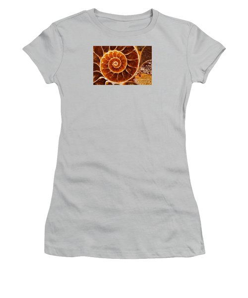 Fossil Nautilus Women's T-Shirt (Athletic Fit)