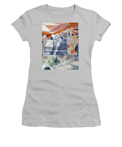 Frank Lloyd Wright Taliesin West 2 Women's T-Shirt (Junior Cut)