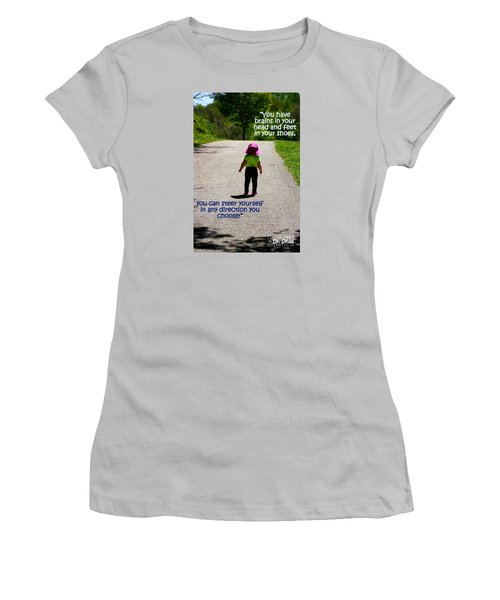 Momentary Freedom Women's T-Shirt (Athletic Fit)