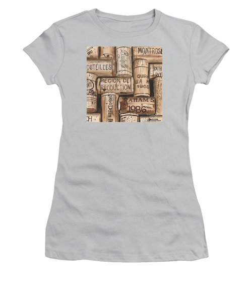 French Corks Women's T-Shirt (Athletic Fit)