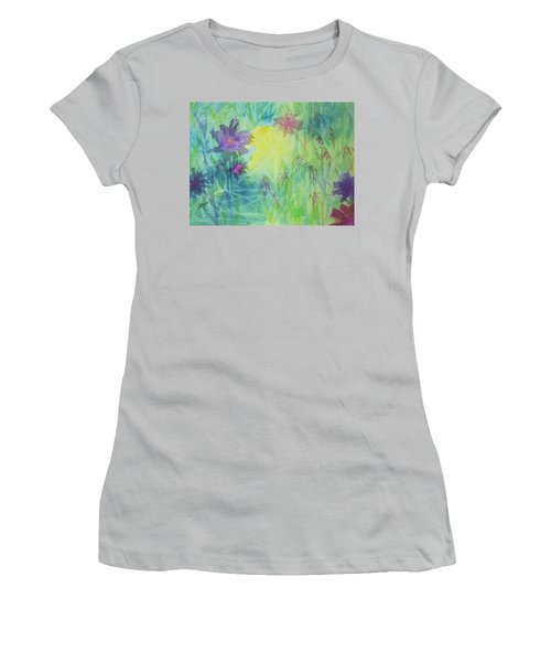 Garden Vortex Women's T-Shirt (Junior Cut) by Ellen Levinson