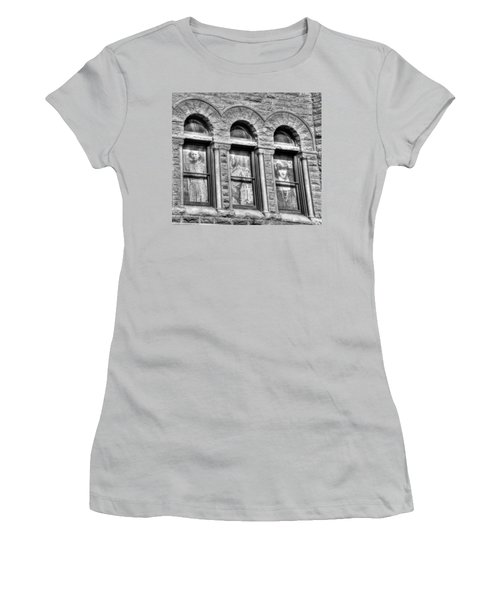 Ghosts Women's T-Shirt (Junior Cut) by Mark Alder