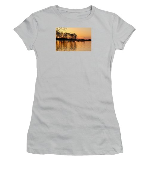 Gilded Sunset Women's T-Shirt (Athletic Fit)