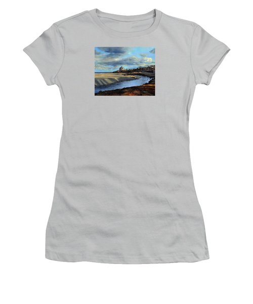 Good Harbor Beach Gloucester Women's T-Shirt (Athletic Fit)
