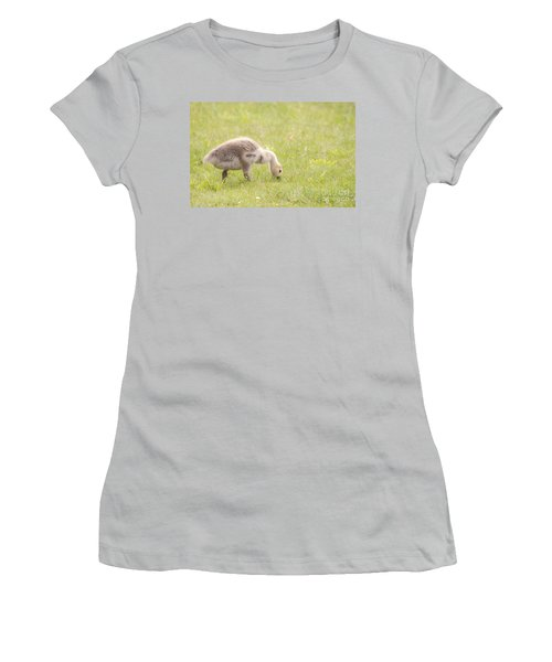 Women's T-Shirt (Junior Cut) featuring the photograph Gosling by Jeannette Hunt