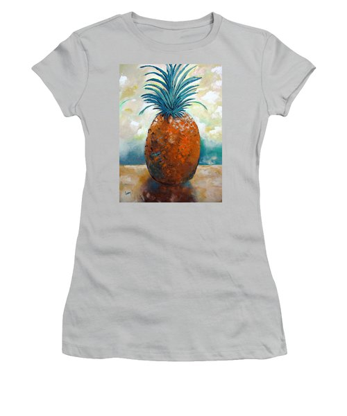 Women's T-Shirt (Junior Cut) featuring the painting Graciousness					 by Gary Smith