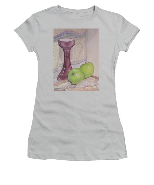 Green Apples Women's T-Shirt (Junior Cut)