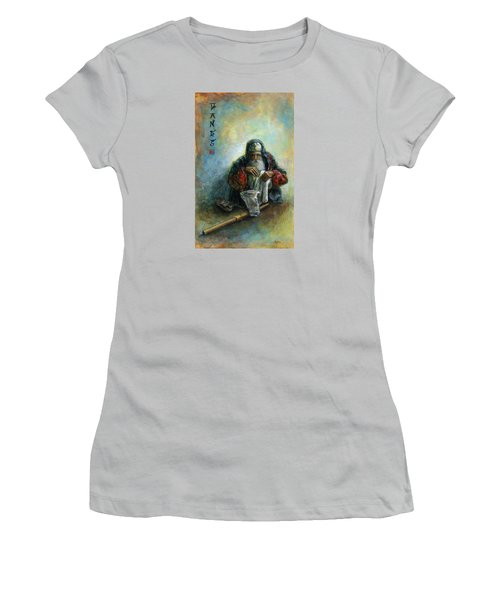 Hands Women's T-Shirt (Junior Cut) by Retta Stephenson