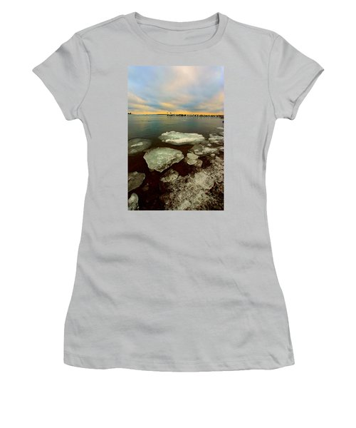 Women's T-Shirt (Junior Cut) featuring the photograph Hanging On by Amanda Stadther