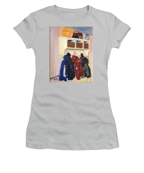 Hanging Out Women's T-Shirt (Athletic Fit)