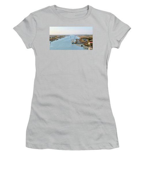 Holden Beach In Nc Women's T-Shirt (Athletic Fit)