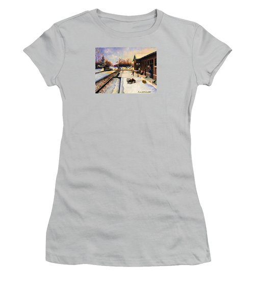 Holiday Depot 1932 Women's T-Shirt (Junior Cut) by Susan Williams