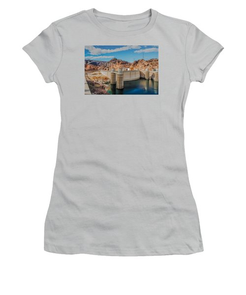 Hoover Dam Reservoir Women's T-Shirt (Athletic Fit)