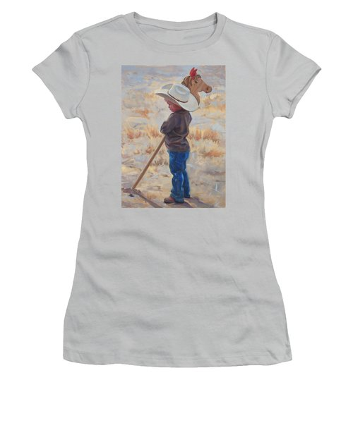 Horse And Rider Women's T-Shirt (Athletic Fit)