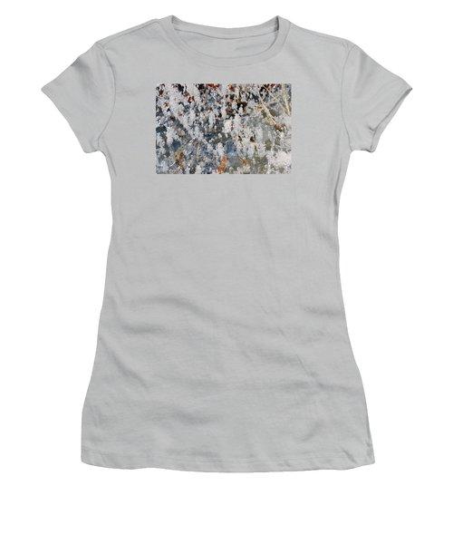 Ice Bubbles  Women's T-Shirt (Athletic Fit)