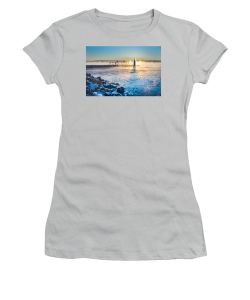 Icy Morning Mist Women's T-Shirt (Junior Cut) by Bill Pevlor