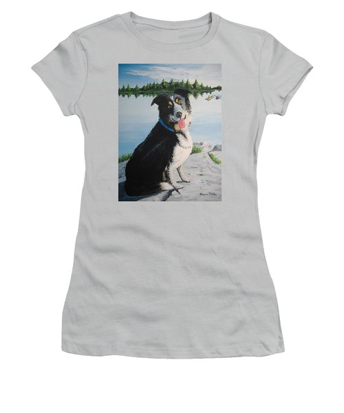 I'm Guarding The Camp Women's T-Shirt (Athletic Fit)