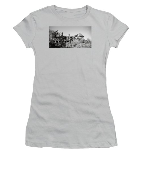 Women's T-Shirt (Junior Cut) featuring the photograph I'm Not What I Used To Be by Carol Lynn Coronios