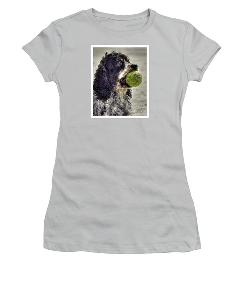 I'm Ready To Play Women's T-Shirt (Junior Cut) by Benanne Stiens