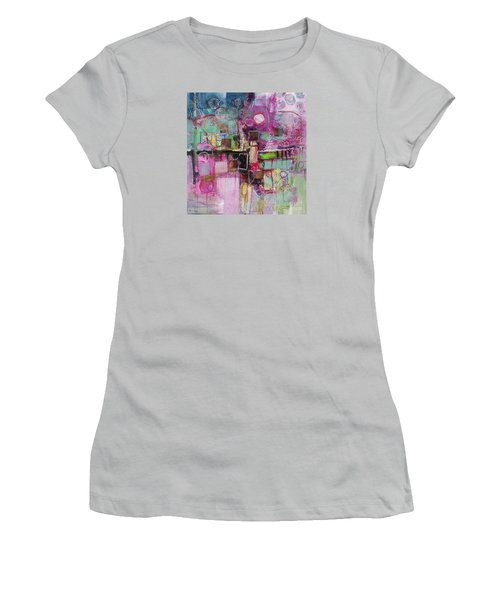 Impromptu Women's T-Shirt (Junior Cut) by Michelle Abrams