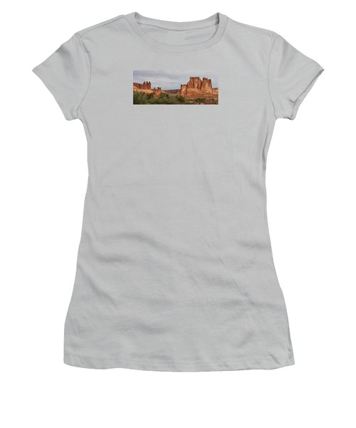 Women's T-Shirt (Junior Cut) featuring the photograph In The Canyon by Bruce Bley