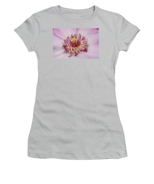 Women's T-Shirt (Junior Cut) featuring the photograph Inside The Flower by Mike Martin