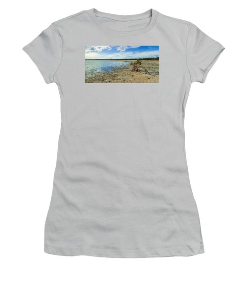 Isolated Women's T-Shirt (Athletic Fit)