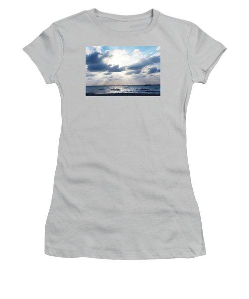Jamaican Sunset2 Women's T-Shirt (Athletic Fit)