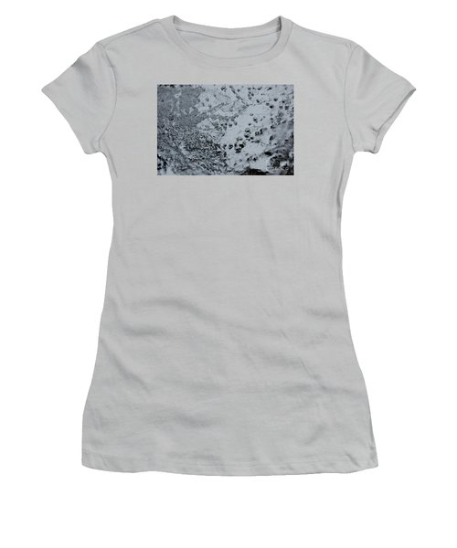 Women's T-Shirt (Junior Cut) featuring the photograph Jammer Abstract 008 by First Star Art
