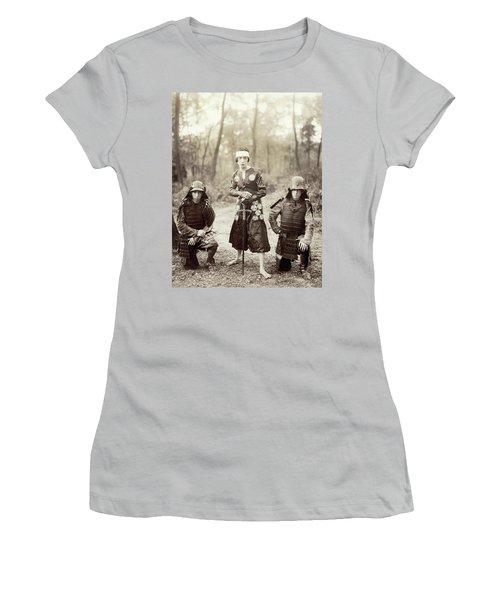 Women's T-Shirt (Junior Cut) featuring the photograph Japan Dancer, 1920s by Granger