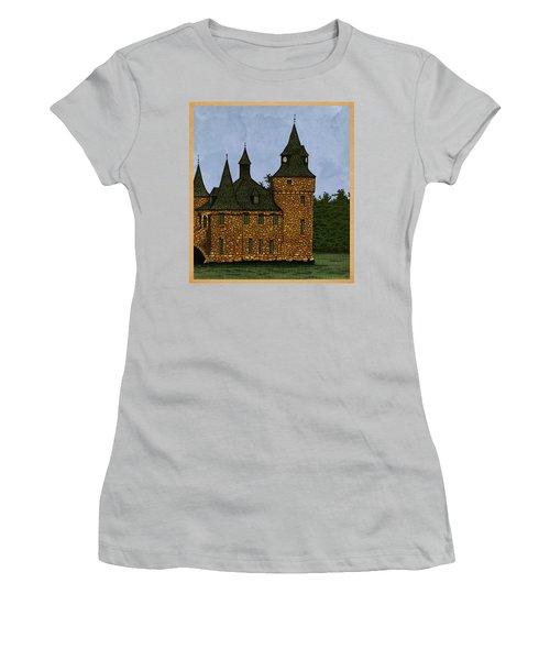 Jethro's Castle Women's T-Shirt (Junior Cut) by Meg Shearer
