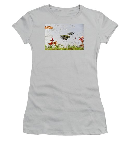 Women's T-Shirt (Junior Cut) featuring the photograph Just Hanging Out by Cynthia Guinn