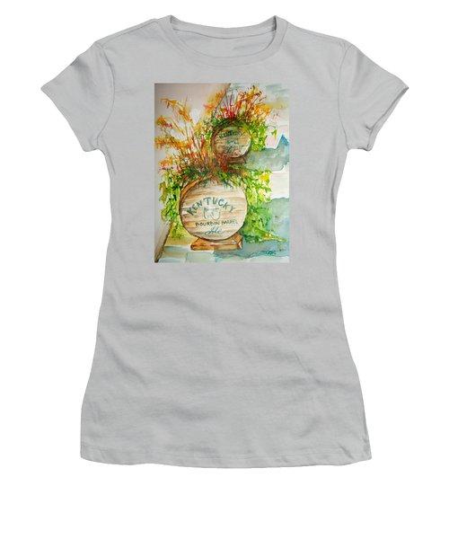 Kentucky Bourbon Barrels Women's T-Shirt (Athletic Fit)