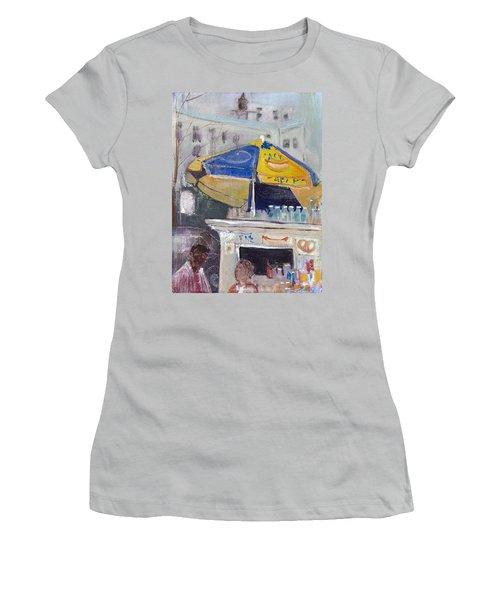 Ketchup Or Mustard Women's T-Shirt (Junior Cut) by Leela Payne