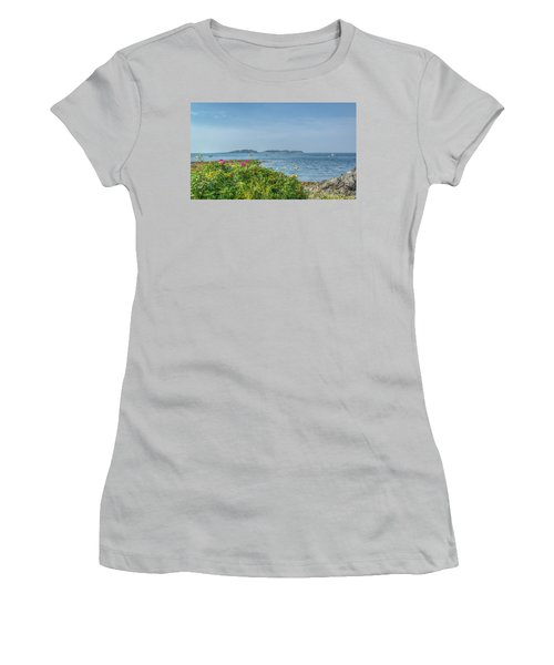 Women's T-Shirt (Junior Cut) featuring the photograph Kettle Cove by Jane Luxton