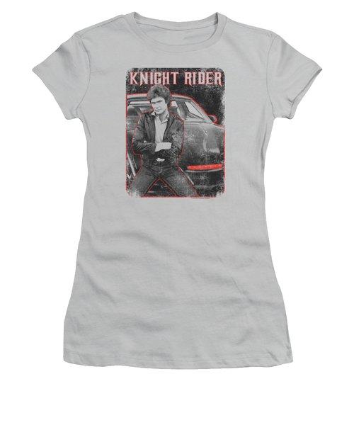 Knight Rider - Knight And Kitt Women's T-Shirt (Athletic Fit)