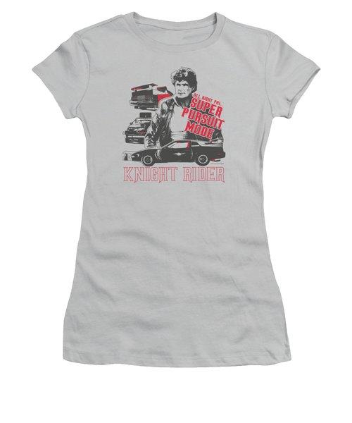 Knight Rider - Super Pursuit Mode Women's T-Shirt (Athletic Fit)