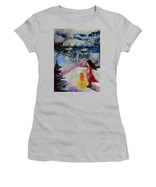 Lantern Festival Women's T-Shirt (Athletic Fit)