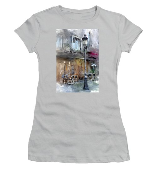 Le Petit Paris Women's T-Shirt (Athletic Fit)