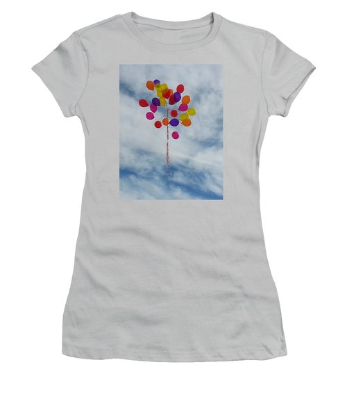 Women's T-Shirt (Junior Cut) featuring the photograph Letting Go by Emmy Marie Vickers