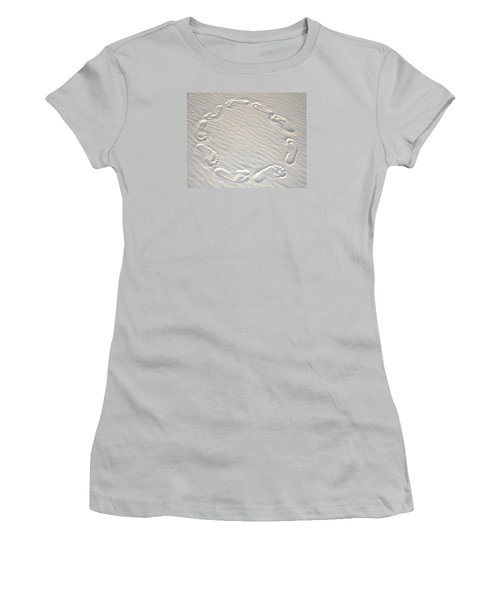 Life's A Beach Women's T-Shirt (Junior Cut) by Charlie and Norma Brock