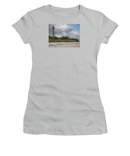 Sanibel Island Light Women's T-Shirt (Junior Cut) by Christiane Schulze Art And Photography