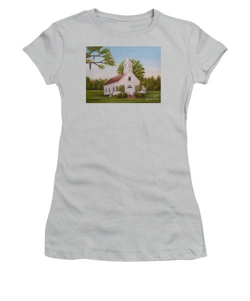 Little Chapel Women's T-Shirt (Athletic Fit)
